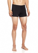 Mens Solid Square Leg Swim