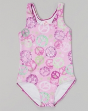Peace and Love Infant One-Piece