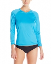Women's Solid L/S Swim Shirt