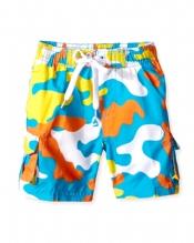 2-4 Boys Camo Swim Trunks